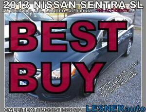 2013 NISSAN SENTRASV -AUTO LOADED BLUE-TOOTH 47,KM- NO ACCIDENTS