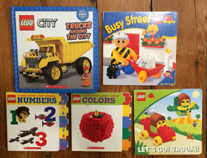 LEGO Board Books $3 each or all 5 for $10
