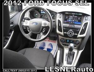 2012 FORD FOCUS SEL -TOUCH SCREEN 17'ALLOYS SONY +MORE!