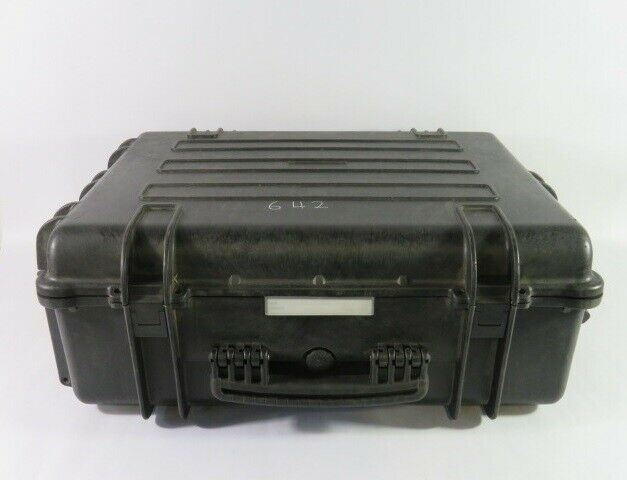Generic Large Black Industrial Case 23-7/8x17-1/4x8 inches  USED