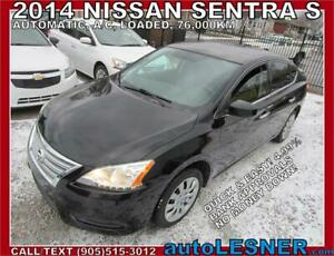 2014 Nissan Sentra-ZERO DOWN, $192 for 60 months FINANCE TO OWN!