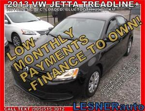 $3000 DOWN, $177 for 60 months! PRICE$10980 -2013 VW JETTA T