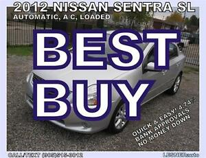 2012 NISSAN SENTRA -SL -AUTO, A/C, LOADED-[ 2010 2011 2013 2014
