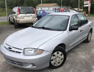 2004 CHEVROLET CAVALIER AUTOMATIQUE + AIR CLIM +MECANIQUE FIABLE