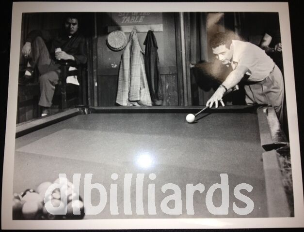 Pool Billiards Fast Eddie About to Break 8x10 Pool Player Still Photo New Unique