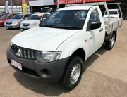 2008 Mitsubishi Triton ML MY09 GL SINGLE CAB White Manual Cab Chassis Garbutt Townsville City Preview