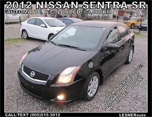 2012 NISSAN SENTRA SR-AUTO LOADED SPORTIER more Premium-