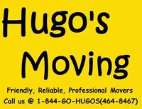 Hugo's Moving, Movers who know Moving