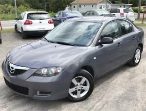 2007 MAZDA 3 GX MANUELLE + MAGS + TRES PROPRE !! 138,OOOKM