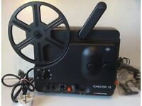 Agfa Sonector LS Super 8 film projector with sound 8mm movie