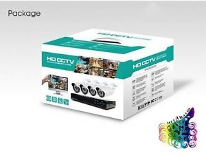 CCTV Security Camera Kit - 8CH with 4HD 2.0MP Camera - Full HD Eatons Hill Pine Rivers Area Preview