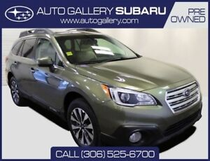 2015 Subaru Outback LIMITED | FULL LEATHER SEATING | NAVIGATION