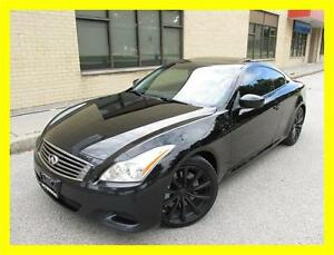 2008 INFINITI G37S *LEATHER,SUNROOF,6 SPEED,BLACK ON BLACK!!!*