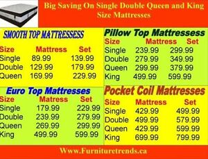 Supper Saving On Queen Size Euro Top mattresses and Box Peterborough Peterborough Area image 4
