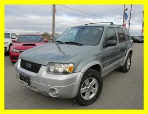 2005 FORD ESCAPE HYBRID *4X4,LEATHER,LOADED,LOW KMS!!!*
