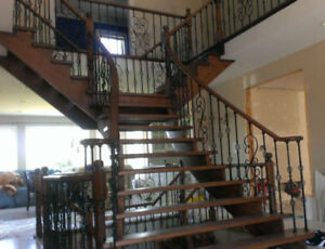 stairs and floors