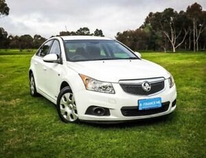 2011 Holden Cruze JG CD White 6 Speed Sports Automatic Sedan Medindie Walkerville Area Preview
