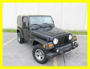 2002 JEEP TJ SPORT *5 SPEED,HARD TOP,PRICED TO SELL!!!*