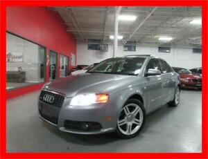 2008 AUDI A4 2.0T QUATTRO *S-LINE,LEATHER,SUNROOF,LOW KMS!!*