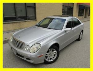 2003 MERCEDES BENZ E320 *LEATHER,SUNROOF,LOADED,LOW KMS!!!*