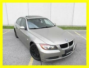 2008 BMW 323I *LEATHER,SUNROOF,DEALER SERVICED,NO ACCIDENTS!!!*