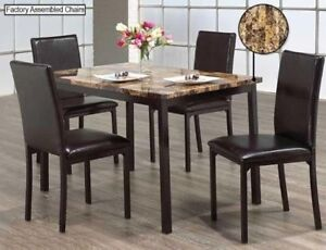 Selling Brand new Faux Marble Top dining table