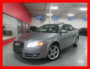 2006 AUDI A4 2.0T QUATTRO *LEATHER,SUNROOF,LOW KMS!!!*