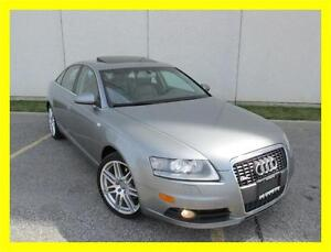 2008 AUDI A6 3.2L QUATTRO *S-LINE,LEATHER,SUNROOF,LOADED!!!*