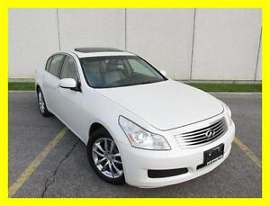 2007 INFINITI G35X *NAVIGATION,BACKUP CAM,LEATHER,SUNROOF!!!*