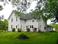 4 Bedroom Home + In-law Suite on 10 Acres-Fringe of  Brockville
