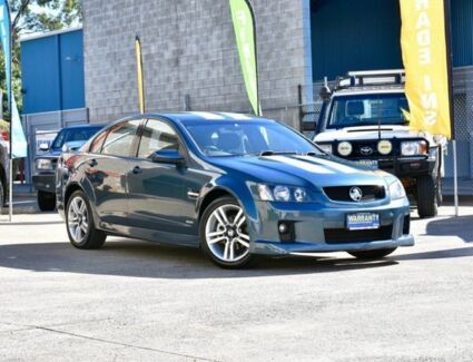 2010 Holden Commodore VE MY10 SV6 Blue 6 Speed Sports Automatic Sedan Capalaba Brisbane South East Preview