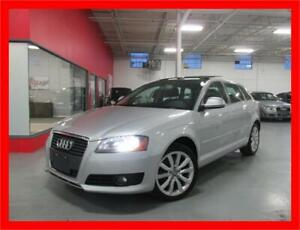 2009 AUDI A3 2.0T *6SPD,LEATHER,PANO ROOF,LOADED!!*