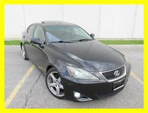 2007 LEXUS IS250 *6 SPEED,LEATHER,SUNROOF,NEW CLUTCH,VERY RARE!*