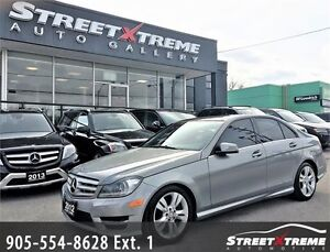 2012 Mercedes-Benz C300 ACCIDENT FREE|AMG|NAVI|BACKUPCAM|SUNROOF