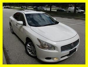 2010 NISSAN MAXIMA *LEATHER,SUNROOF,NO ACCIDENTS, 1 OWNER!!!*