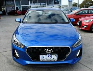 2018 Hyundai i30 PD2 MY18 Active Blue 6 Speed Sports Automatic Hatchback Ferntree Gully Knox Area Preview