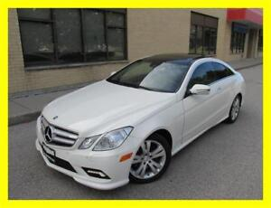 2010 MERCEDES-BENZ E350 COUPE *LEATHER,PANORAMIC ROOF,LOW KMS!!*