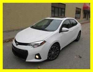 2014 TOYOTA COROLLA S *LEATHER,SUNROOF,BACKUP CAM,LOADED!!!*