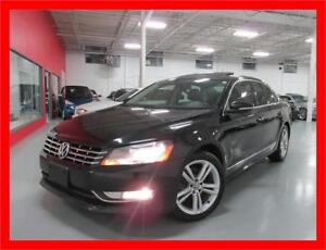 2012 VOLKSWAGEN PASSAT HIGHLINE *NAVI,LEATHER,SUNROOF,LOADED!!!*
