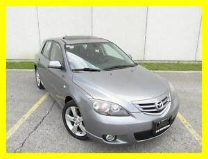 2004 MAZDA MAZDA3 GT *AUTOMATIC,SUNROOF,ALLOYS,LOW KMS!!!*