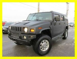 2003 HUMMER H2 *LEATHER,DVD,MATTE BLACK,PRICED TO SELL!!!*