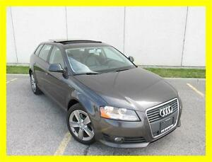 2009 AUDI A3 2.0T *LEATHER,PANORAMIC ROOF,PREMIUM PKG,LOADED!!!*