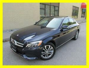 2015 MERCEDES-BENZ C300 4MATIC *NAVIGATION,PANO ROOF,LIKE NEW!!*