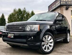 2012 Land Rover Range Rover Sport Supercharged *Only 91k KM*