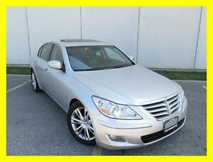 2009 HYUNDAI GENESIS V8 *TECHNOLOGY PKG,NAVIGATION,LEATHER,ROOF*