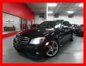 2009 MERCEDES-BENZ C63 AMG *451HP,NAVI,BACKUP CAM,NO ACCIDENTS!*