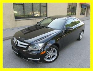 2013 MERCEDES C250 COUPE *NAVIGATION,PANO ROOF,LEATHER,LOADED!!*