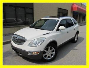 2008 BUICK ENCLAVE CXL *LEATHER,DUAL ROOF,CHROME RIMS,LOADED!!!*