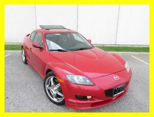 2007 MAZDA RX-8 GT *6 SPEED,LEATHER,SUNROOF,CHROME RIMS!!!*