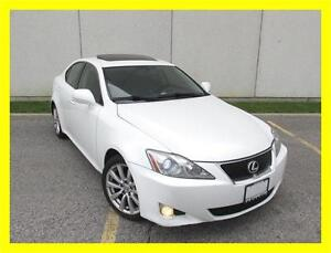 2008 LEXUS IS250 *LEATHER,SUNROOF,ALLOYS,LOW KMS!!!*